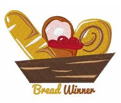 Bread Winner embroidery design