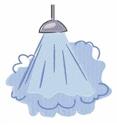 Steamy Shower embroidery design