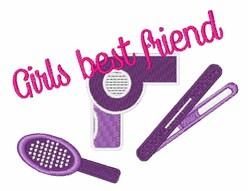 Girls Friend embroidery design