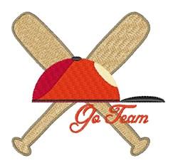 Go Team embroidery design