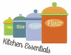 Kitchen Essentials embroidery design