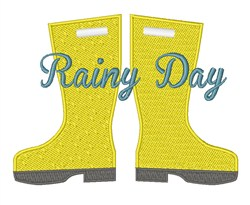 Rainy Day embroidery design