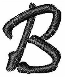 Pristina Font B embroidery design