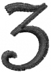Dynasty Number 3 embroidery design
