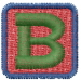 Baby Blocks Font B embroidery design