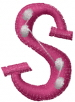 Dot Letter S embroidery design