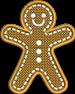 FSL Gingerbread Man
