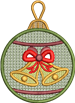 FSL Jingle Bell Ornament
