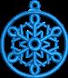 FSL Xmas Snowflake