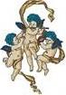 Cupids embroidery design