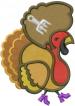 Jive Turkey embroidery design