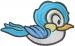 Little Bluebird embroidery design