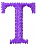 Greek Letter Tau embroidery design