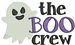 The Boo Crew embroidery design