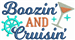 Boozin And Cruisin embroidery design