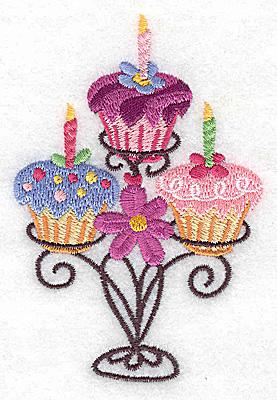 Cupcake Applique Design Free