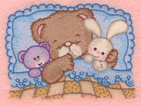 Teddy Bear And Friends Machine Embroidery Designs