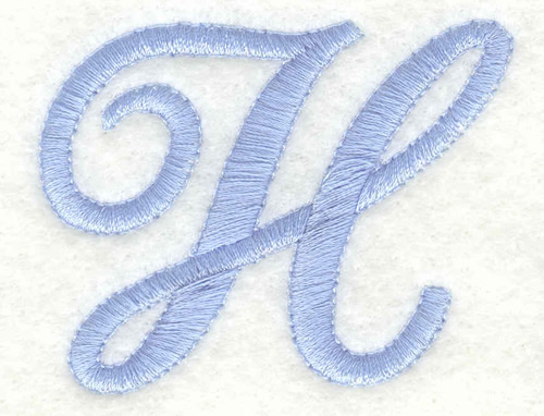 Fancy font h embroidery design annthegran altavistaventures Choice Image
