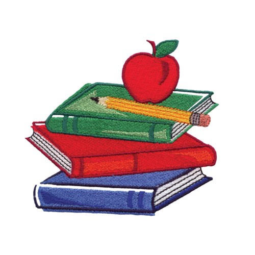 Books with apple embroidery design annthegran for Apple design book