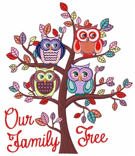family tree embroidery design annthegran