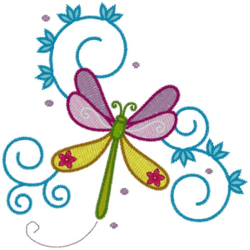Free Dragonfly Embroidery Design Annthegran