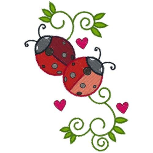 Free Ladybug Embroidery Design
