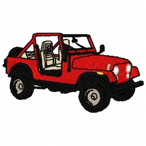Jeep wrangler embroidery design annthegran