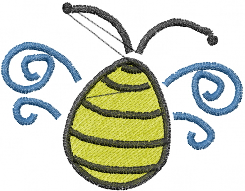Free bumble bee embroidery design annthegran