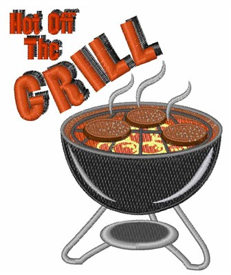 Hot Off Grill Embroidery Design Annthegran