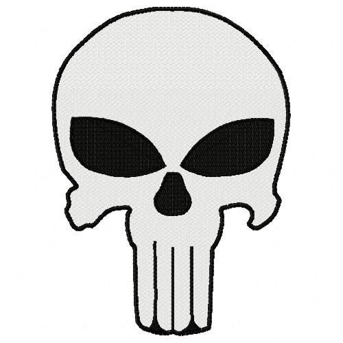 Free Punisher Skull Embroidery Design Annthegran
