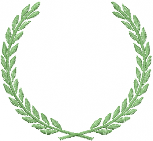Free laurel leaf embroidery design annthegran