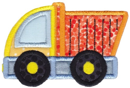 Applique Dump Truck Embroidery Design Annthegran