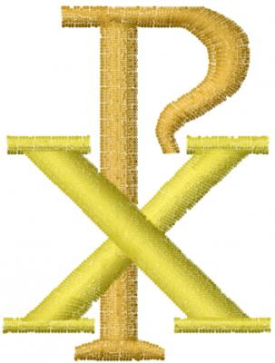 Chi Rho Symbol Embroidery Design Annthegran