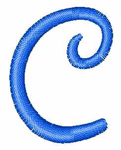 Disney Letter C Embroidery Design Annthegran