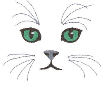 Cat Eyes Embroidery Design Annthegran