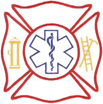 maltese cross outline embroidery design annthegran rh annthegran com firefighter maltese cross vector image firefighter maltese cross vector image