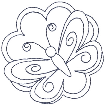 butterfly outline embroidery design annthegran