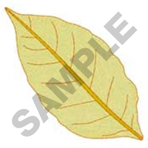 Golden tobacco leaf embroidery design annthegran