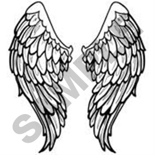 angel wings embroidery design annthegran