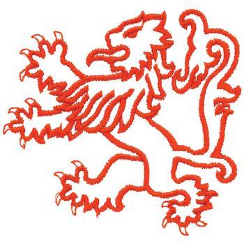 Heraldic Embroidery Designs