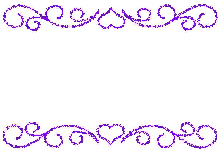 Heart border embroidery design annthegran
