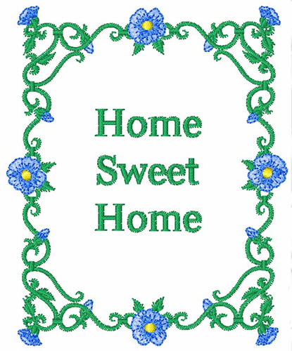 Home sweet home embroidery design annthegran - Home sweet home designs ...