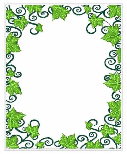 Ivy swirl border embroidery design annthegran altavistaventures Images