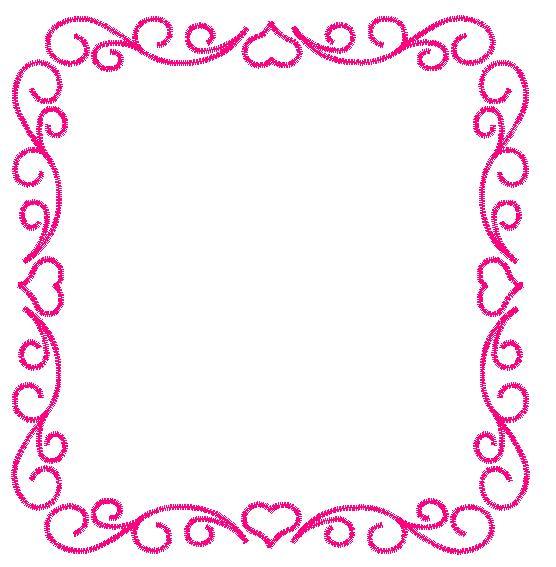 Heart Frame Embroidery Design | AnnTheGran