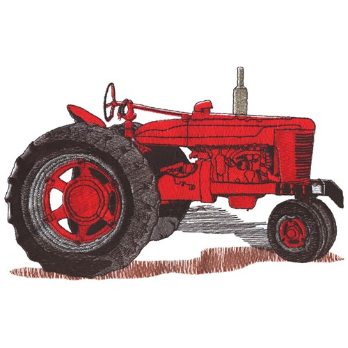 Embroidery Of Tractors : Tractor embroidery design annthegran