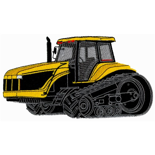 Embroidery Of Tractors : Hi track tractor embroidery design annthegran