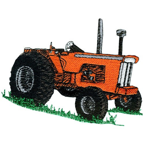 Embroidery Of Tractors : Classic tractor crest embroidery design annthegran