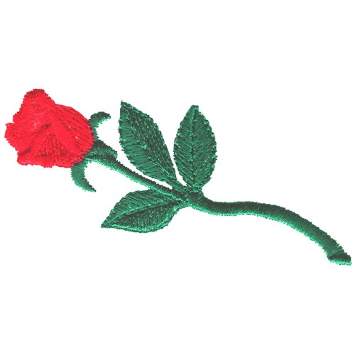 Small Rose Embroidery Design Annthegran