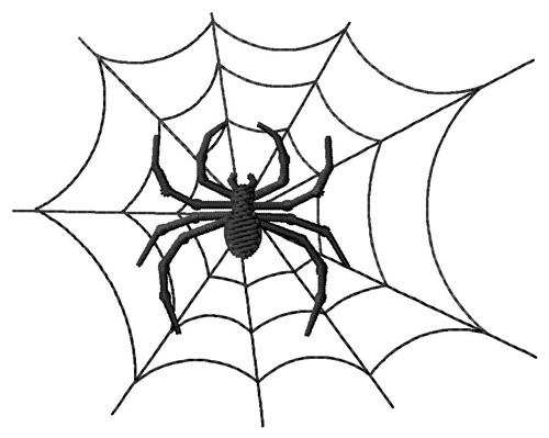 Spider Embroidery Design Annthegran