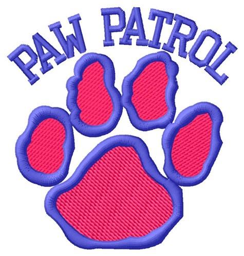 Dog Paw Patrol Embroidery Design Annthegran